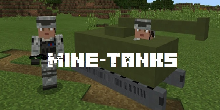 Мод на танки - Mine-Tanks 1.2, 1.1.5