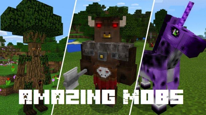 Amazing Mobs 1.2.13, 1.2, 1.1.5, 1.0