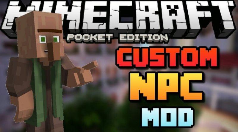 Custom NPC 1.2.13, 1.2.8, 1.2, 1.1.5