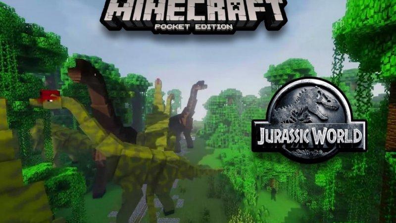 Мод на динозавров - Jurassic Craft 1.5, 1.2.10, 1.2.8, 1.2, 1.1.5