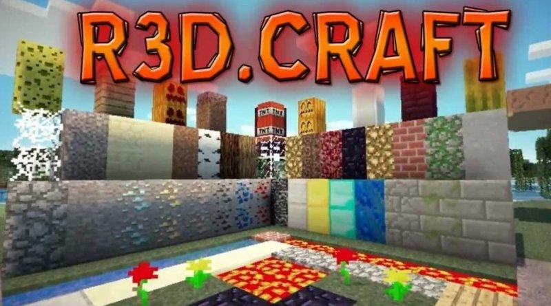 R3D.CRAFT 1.2.8, 1.2.5, 1.2, 1.1.5, 1.1, 1.0