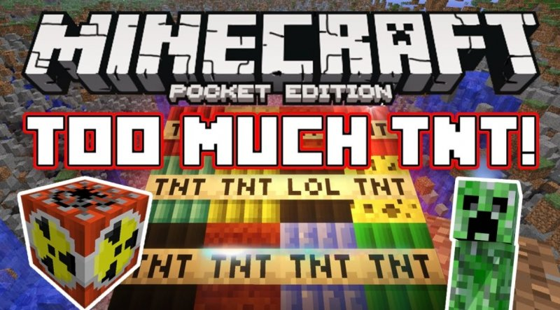 Too Much TNT 1.5, 1.2, 1.1.5, 1.1, 1.0