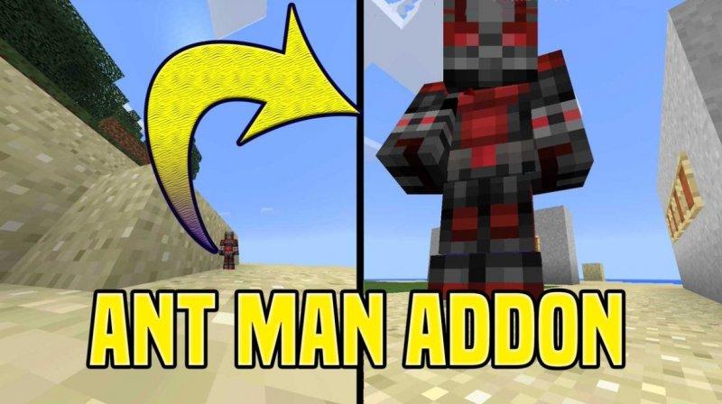 Мод на человека муравья - Ant-Man 1.5.3, 1.4, 1.2.13, 1.2.10, 1.2.8, 1.2