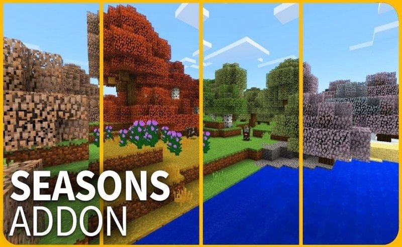 Мод на сезоны - Seasons 1.5, 1.2.10, 1.2.8, 1.2, 1.1.5