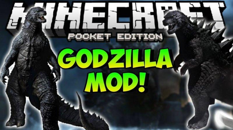 Мод на Годзиллу - Godzilla 1.5, 1.2.8, 1.2, 1.1.5