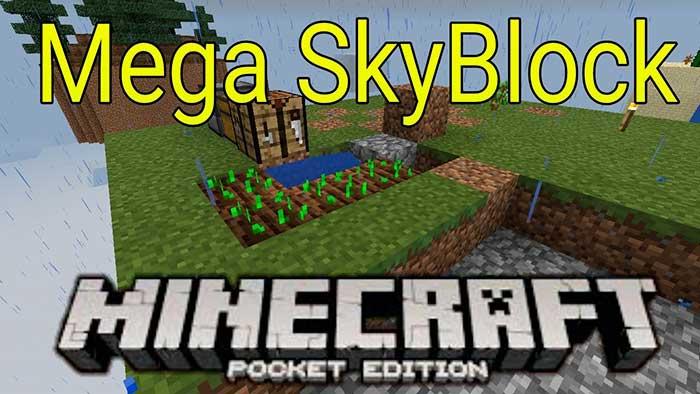 Mega Skyblock 1.5, 1.4, 1.2.13, 1.2, 1.1.5
