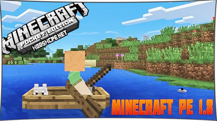 Скачать Minecraft 1.8 / 1.8.0
